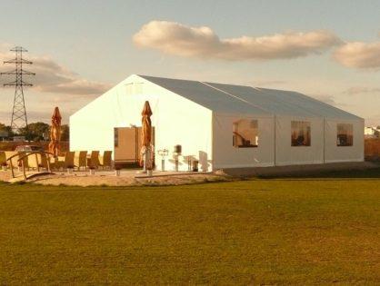 Wynajem namiotów – Zachodniopomorskie, hala namiotowa – Pomorskie